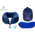 Купить подушку для путешествий ортопедическую с эффектом ПЕНЫ ПАМЯТИ (Memory Foam) мод.4
