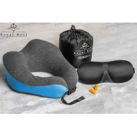 Buy a pillow for travel, travel, airplane, train, car. With memory foam (MEMORY FOAM). Maud. 06