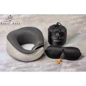 Orthopedic neck pillow to buy from Royal Rest. Pillow on the plane, train, mod.07