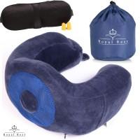 Подушка для шеи, путешествия, авто, ортопедическая с эффектом памяти пены ( MEMORY FOAM ). мод. 01
