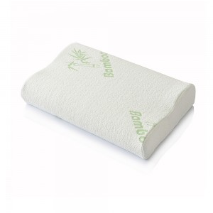 Buy Orthopedic pillow for sleeping from memory foam, pillowcase with Bamboo fiber.